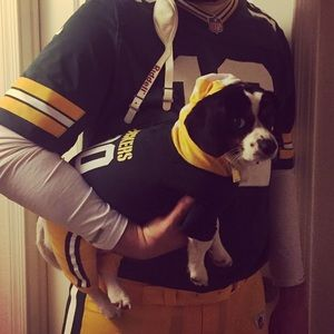 Green Bay Packers Dog Costume